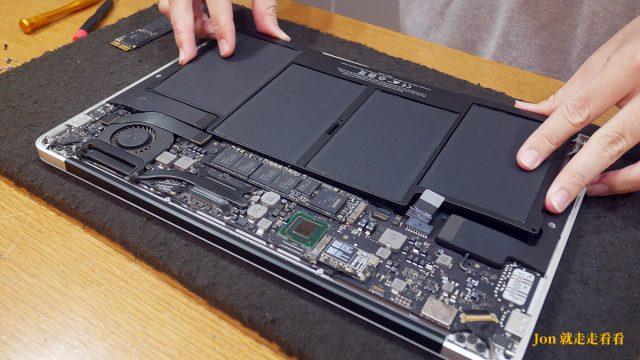 MacBook電池換新-板橋Mac維修